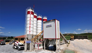the status of concrete batching plant