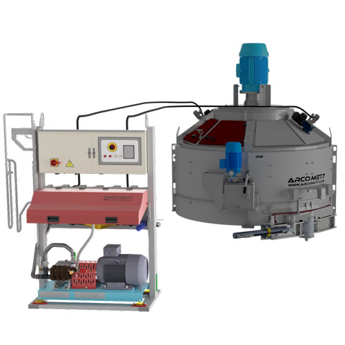 High Pressure Concrete Mixer System