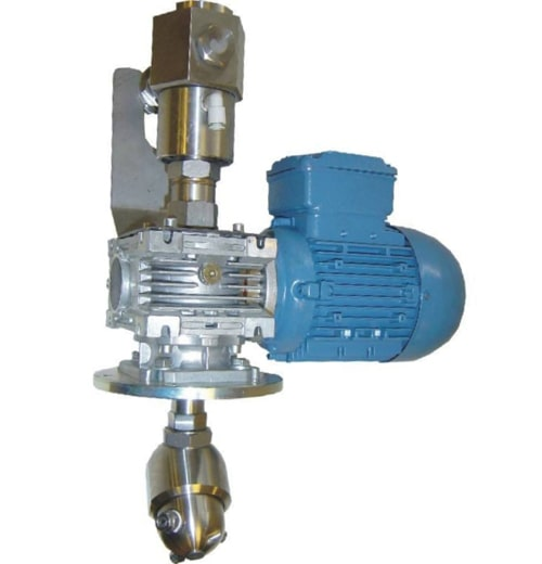 High Pressure mixer system head