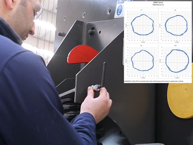 MEKA Inclined Screen Vibration Analysis