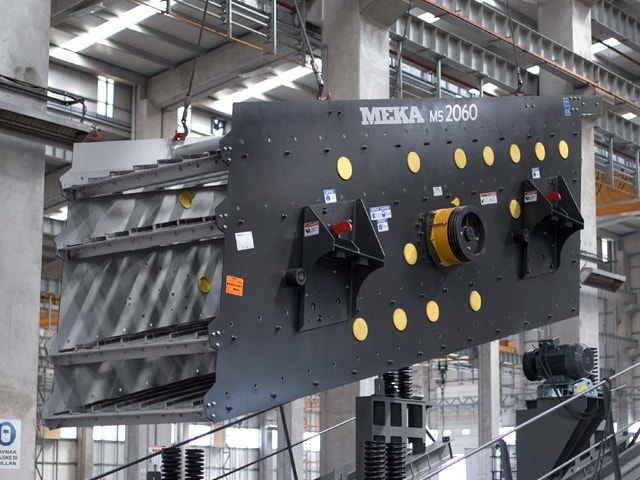 MEKA Inclined Screen Wet Screening
